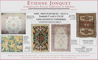 TAPIS ANCIENS ET TAPISSERIES - VENTE EN DIRECT