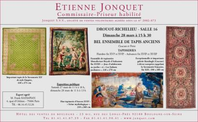 BEL ENSEMBLE DE TAPIS ANCIENS - TAPISSERIES