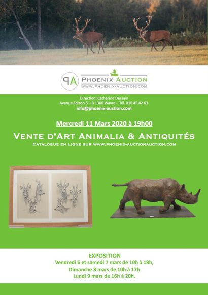 ART ANIMALIER & ANTIQUITES
