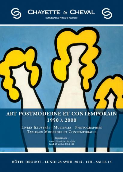 ART POST-MODERNE et CONTEMPORAIN 1950 à 2000