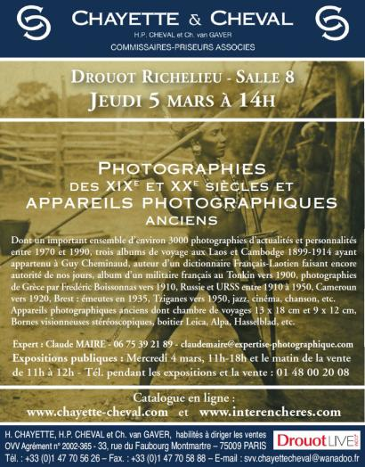 PHOTOGRAPHIES ANCIENNES et DE COLLECTION-
