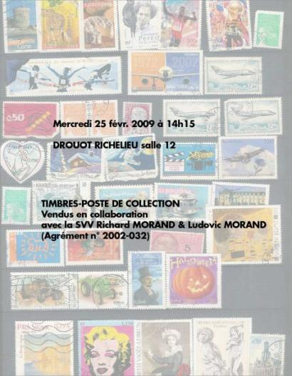 VENTE TIMBRES de COLLECTION