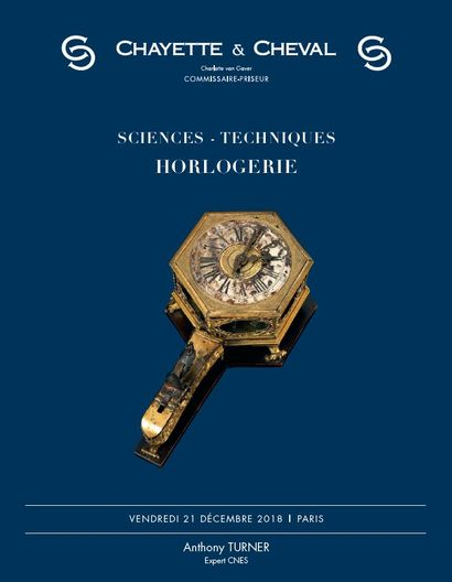 HORLOGERIE ET SCIENCES