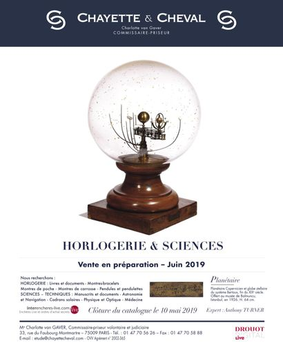 HORLOGERIE ET SCIENCES ANNEXES - EN PREPARATION