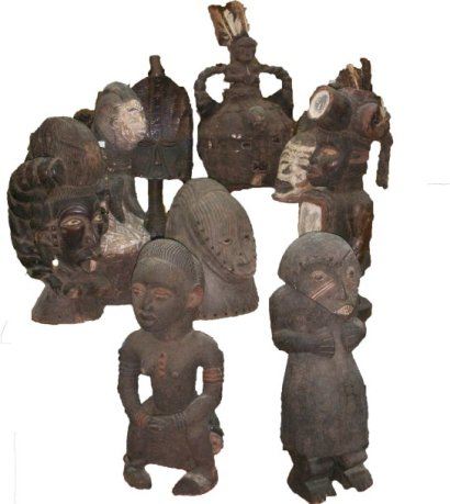 COLLECTION PIERRE LECHANTRE ART AFRICAIN