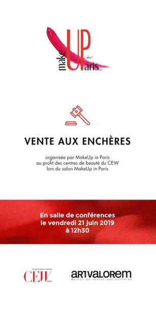 VENTE CARITATIVE CEW | MAKE UP PARIS