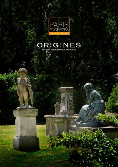 ORIGINES : éléments d'architecture et ornements de jardin VOL. I