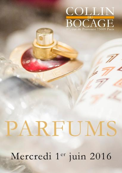 Collection de flacons de parfum
