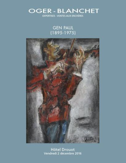 Gen Paul, tableaux, dessins, estampes