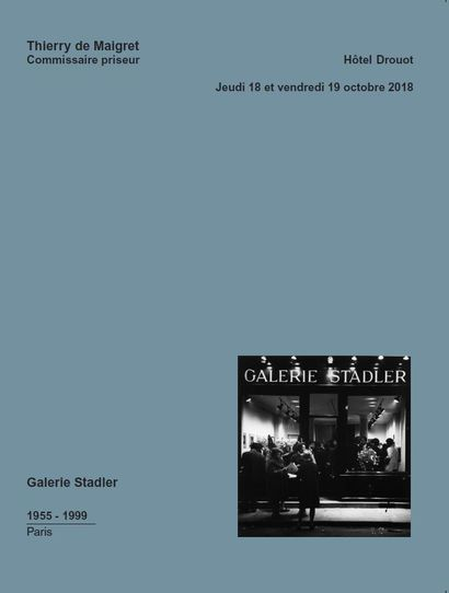 Ancien fond de la galerie Stadler, Paris - photographies, estampes, sculptures et tableaux modernes