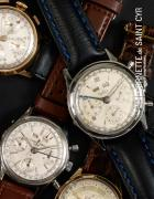MONTRES A COMPLICATIONS : TRIPLE CALENDRIER & CHRONOGRAPHE