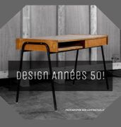 DESIGN ANNEES 50 II<br>Mobilier universitaire Attribué à Pierre Guariche, 1950<br>Résidence Universitaire du campus Paris/Orsay