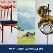 UN INTERIEUR SCANDINAVE 60's A PARIS