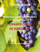 VENTE AUX ENCHERES CARITATIVE DE GRANDS CRUS DE BORDEAUX
