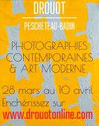 PHOTOGRAPHIES CONTEMPORAINES & ART MODERNE ONLINE