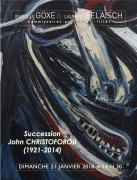 SUCCESSION John et Ruth CHRISTOFOROU (1921-2014)