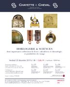 HORLOGERIE ET SCIENCES ANNEXES