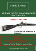 Vente d'une collection d'armes (partie 2)