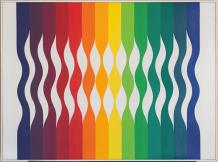 OPTICAL AND GEOMETRICAL COLLECTION IMPORTANT PAINTINGS & SCULPTURES FROM THE 20TH CENTURY