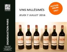 VENTE EXCLUSIVE WEB - VINS MILLESIMES -07.07.16 -DIGARD AUCTION