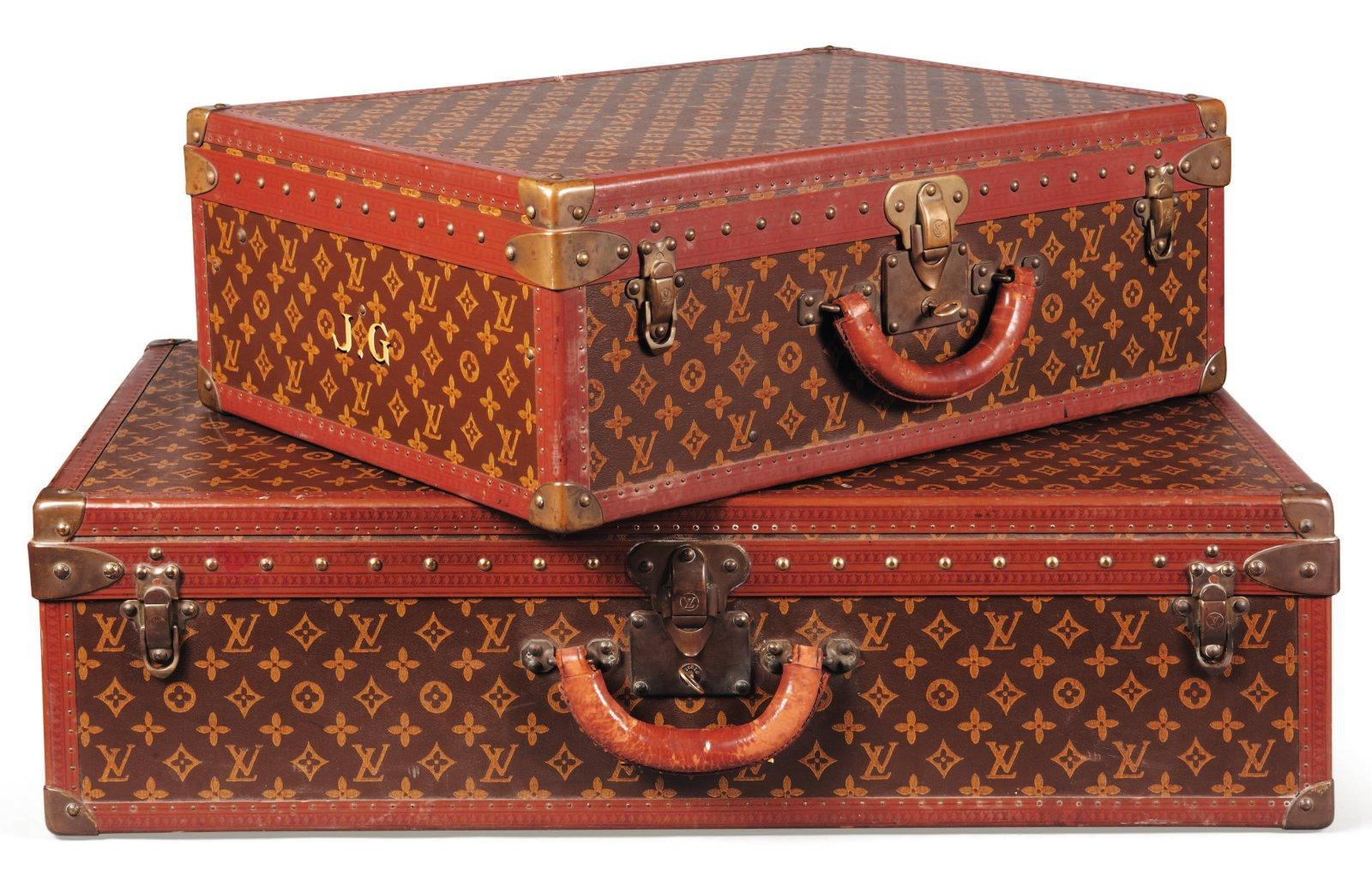 valise louis vuitton des ann es 39 30 ayant appartenu julien green valise. Black Bedroom Furniture Sets. Home Design Ideas