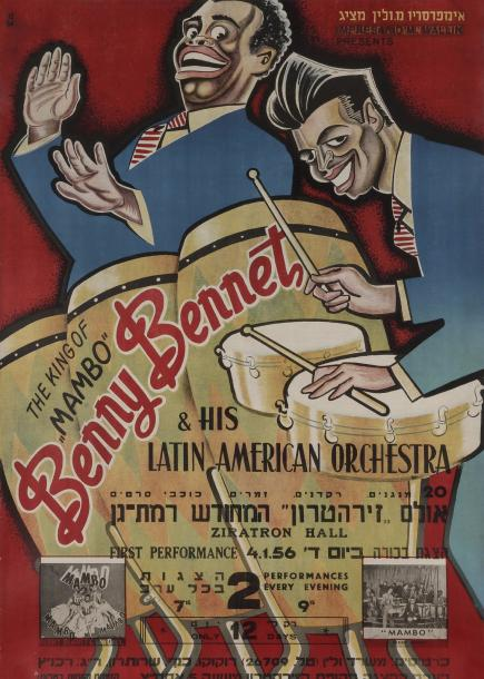 [AFFICHE MUSICALE] The king of Mambo, Benny Bennet & his latin american Orchestra.…
