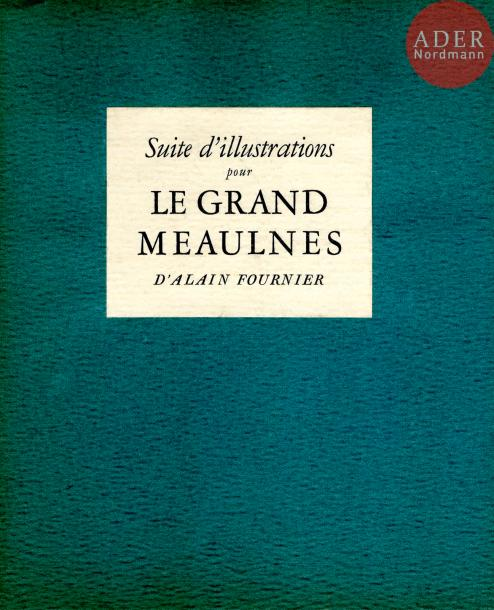 ALBIN GUILLOT, LAURE (1879-1962). Suite d'illustrations pour Le Grand Meaulnes d'Alain…